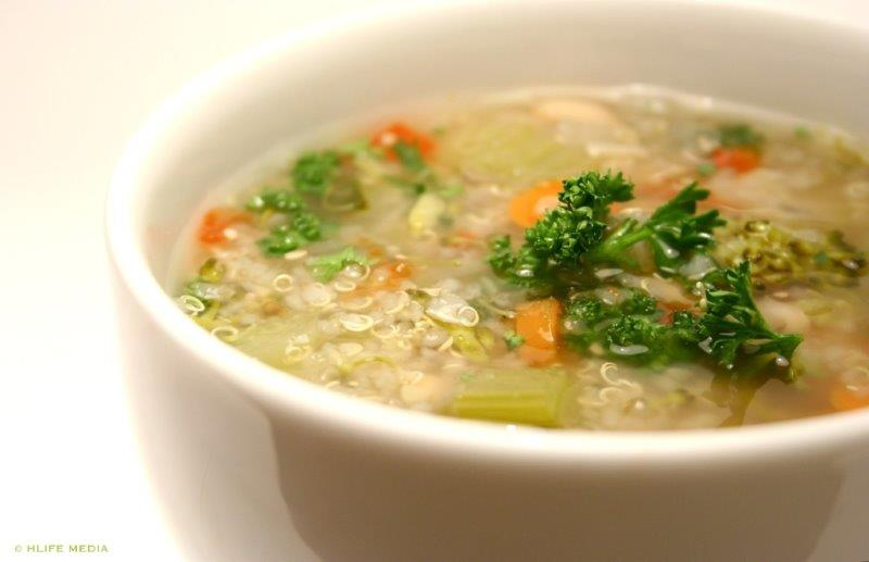Quinoa Soup Weather!