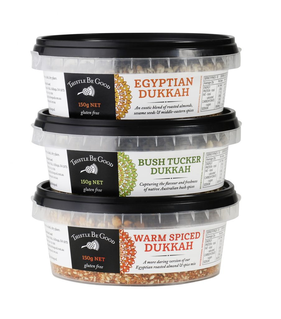 Our delicious dukkah range